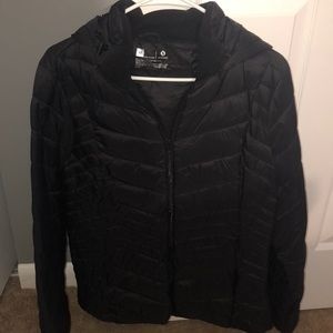 Black coat - with tags